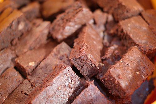 Low sugar fudgie brownies