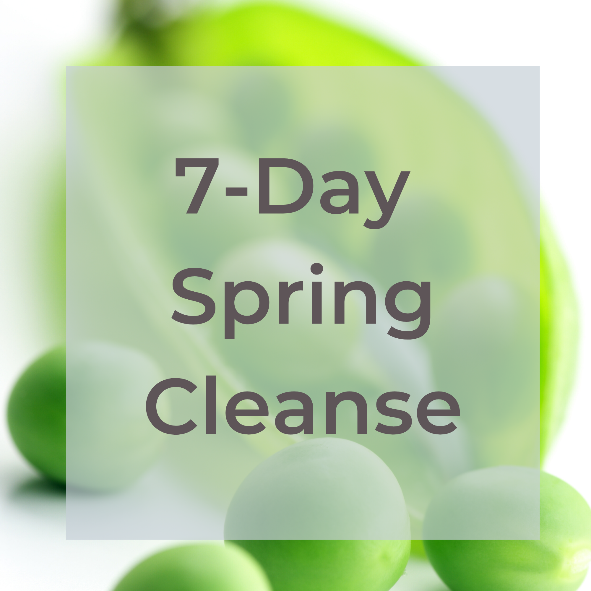 7- Day Spring Cleanse